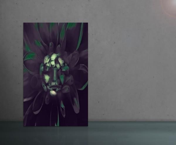 TOXIC FLOWER 80x120cm