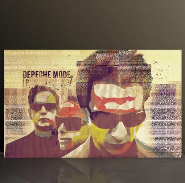 Depeche Mode 8, 70x120 cm