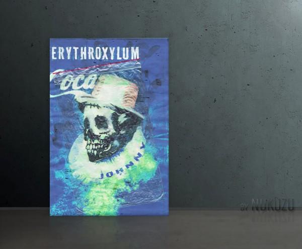 ERYTHROXYLUM COCA 80x120cm