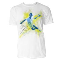 Handball Sinus Art ® T-Shirt Crewneck Tee with Frontartwork