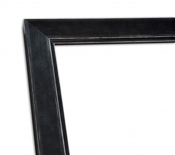 Moderne Rahmenleiste in Schwarz Vintage-Optik