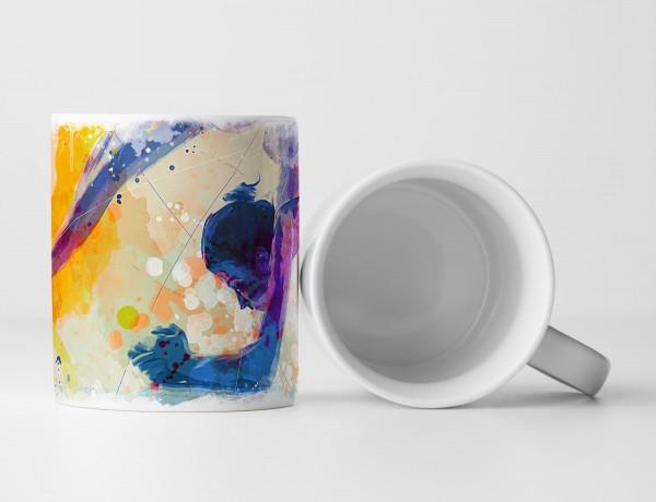 Turnen IV Tasse als Geschenk, Design Sinus Art