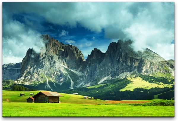 schöne Feldlandschaft Wandbild in verschiedenen Größen