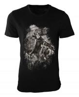 Zelda Damen und Herren T-Shirt schwarz / black