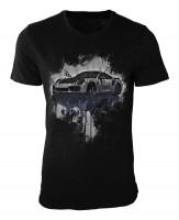 Porsche 991 Damen und Herren T-Shirt schwarz / black