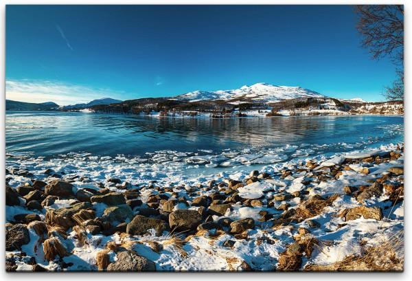 Panorama von Norwegen Wandbild in verschiedenen Größen