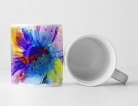 Blume II Tasse als Geschenk,  Design Sinus Art