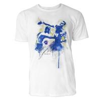 Boxen Sinus Art ® T-Shirt Crewneck Tee with Frontartwork