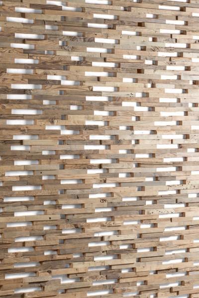 """Holz Naturwand : antikes Holz, Altholz - """"EXPO"""""""
