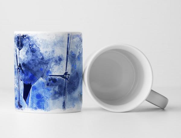 Birds IV Tasse als Geschenk, Design Sinus Art