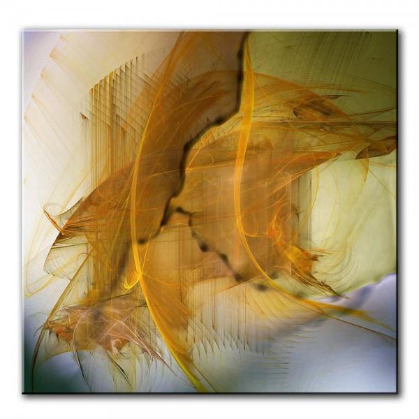 Zarte Seele, abstrakt, 60x60cm